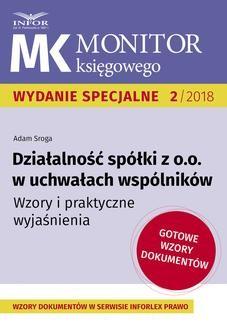 Chomikuj, ebook online Działalność spółki z o.o. w uchwałach wspólników. Adam Sroga