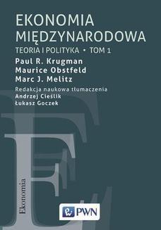Chomikuj, ebook online Ekonomia międzynarodowa Tom 1. Maurice Obstfeld