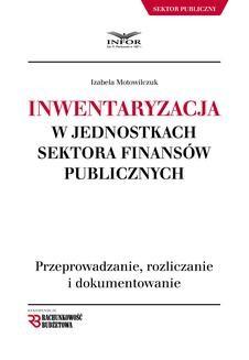 Chomikuj, ebook online Inwentaryzacja w jednostkach sektora finansów publicznych. Izabela Motowilczuk