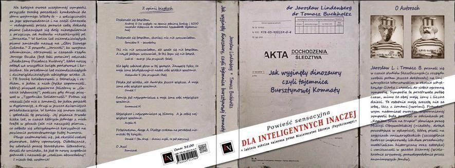 Chomikuj, ebook online Jak wyginęły dinozaury, czyli tajemnica Bursztynowej Komnaty. Jarosław Lindenberg