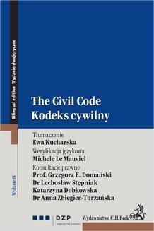 Ebook Kodeks cywilny. The civil code. Wydanie 4 pdf