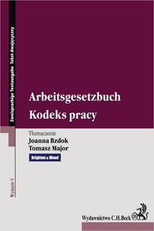Ebook Kodeks pracy. Arbeitsgesetzbuch. Wydanie 5 pdf