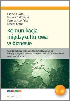 Chomikuj, ebook online Komunikacja międzykulturowa w biznesie. Leszek Gracz