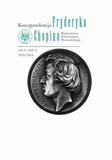 Ebook Korespondencja Fryderyka Chopina 1838-1839. Tom 2, część 2 pdf