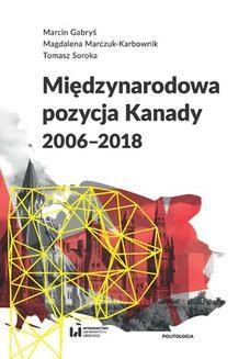 Chomikuj, ebook online Międzynarodowa pozycja Kanady (2006-2018). Marcin Gabryś