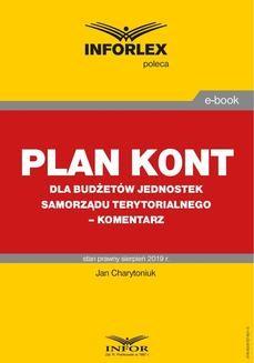 Ebook Plan kont dla budżetów jednostek samorządu terytorialnego – komentarz pdf