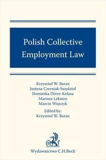 Chomikuj, ebook online Polish Collective Employment Law. Krzysztof W. Baran