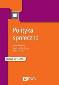 Chomikuj, ebook online Polityka społeczna. Jacek Męcina