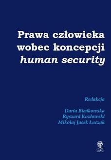 Chomikuj, ebook online Prawa człowieka wobec koncepcji human security. Praca zbiorowa
