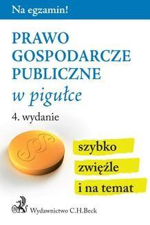 Ebook Prawo gospodarcze publiczne w pigułce pdf