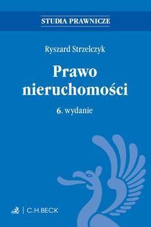 Ebook Prawo nieruchomości. Wydanie 6 pdf