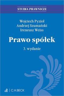 Ebook Prawo spółek. Wydanie 3 pdf