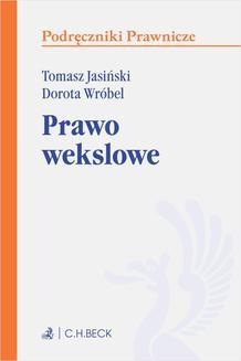 Ebook Prawo wekslowe. Wydanie 1 pdf