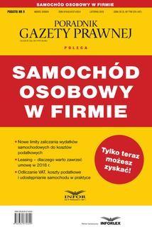 Chomikuj, ebook online SAMOCHÓD osobowy w firmie. Praca zbiorowa