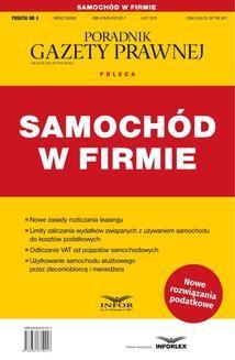 Chomikuj, ebook online SAMOCHÓD W FIRMIE. Opracowanie zbiorowe