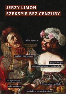 Ebook Szekspir bez cenzury. Erotyczny żart na scenie elżbietańskiej pdf