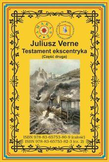 Chomikuj, ebook online Testament ekscentryka. Część 2. Juliusz Verne