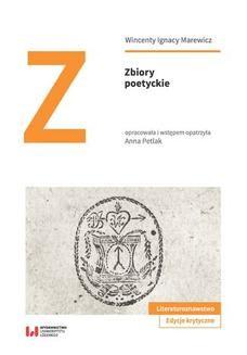 Chomikuj, ebook online Zbiory poetyckie. Wincenty Ignacy Marewicz
