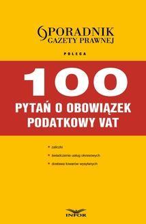 Ebook 100 pytań o obowiązek podatkowy pdf