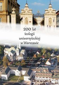 Chomikuj, ebook online 200 lat teologii uniwersyteckiej w Warszawie. Magdalena Butkiewicz