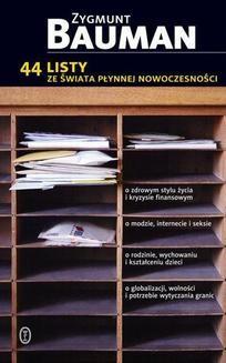 Chomikuj, ebook online 44 listy ze świata płynnej rzeczywistości. Zygmunt Bauman
