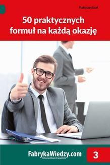 Chomikuj, ebook online 50 praktycznych formuł na każdą okazję. Wojciech Próchnicki