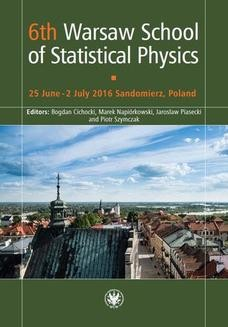 Chomikuj, ebook online 6th Warsaw School of Statistical Physics. Bogdan Cichocki