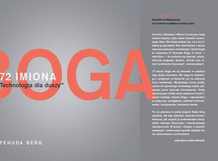 Chomikuj, ebook online 72 Imiona Boga. Technologia dla duszy. Yehuda Berg