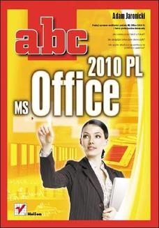 Chomikuj, ebook online ABC MS Office 2010 PL. Adam Jaronicki