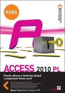 Chomikuj, ebook online Access 2010 PL. Kurs. Danuta Mendrala