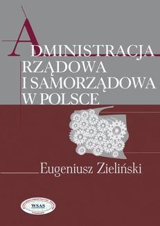Chomikuj, ebook online Administracja rządowa i samorządowa w Polsce. Eugeniusz Zieliński