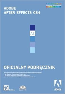 Chomikuj, ebook online Adobe After Effects CS4. Oficjalny podręcznik. Adobe Creative Team