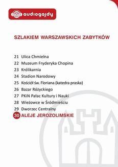 Chomikuj, ebook online Aleje Jerozolimskie. Szlakiem warszawskich zabytków. Ewa Chęć