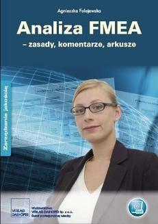 Chomikuj, ebook online Analiza FMEA – zasady, komentarze, arkusze. Agnieszka Folejewska