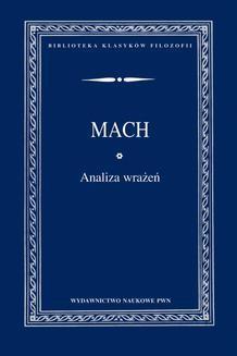 Chomikuj, ebook online Analiza wrażeń. Ernst Mach