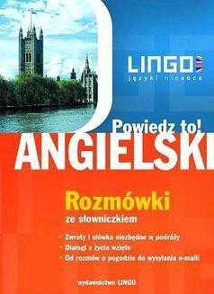 Chomikuj, ebook online Angielski. Rozmówki. Powiedz to!. Agnieszka Szymczak-Deptuła