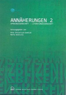 Chomikuj, ebook online Annäherungen 2 Sprachwissenschaft – Literaturwissenschaft. Anna Stolarczyk-Gembiak