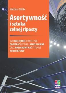 Chomikuj, ebook online Asertywność i sztuka celnej riposty. Matthias Nöllke