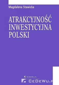 Chomikuj, ebook online Atrakcyjność inwestycyjna Polski. Magdalena Stawicka