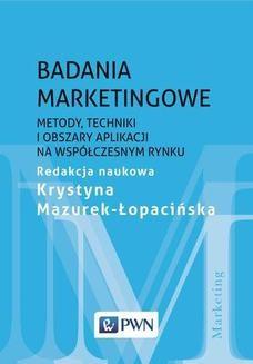 Chomikuj, ebook online Badania marketingowe. Krystyna Mazurek-Łopacińska