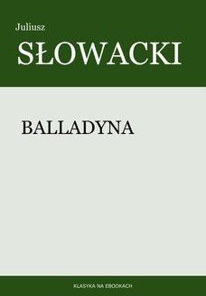 Chomikuj, ebook online Balladyna. Juliusz Słowacki