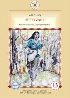 Ebook Betty Zane. Legendy Doliny Ohio. Część I pdf