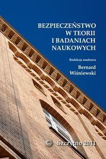 Ebook Bezpieczeństwo w teorii i badaniach naukowych pdf