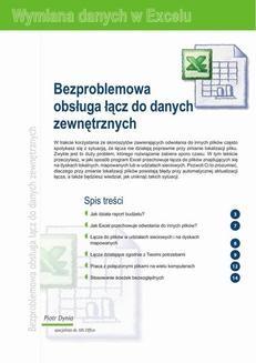 Chomikuj, ebook online Bezproblemowa obsługa łącz do danych zewnętrznych. Praca zbiorowa