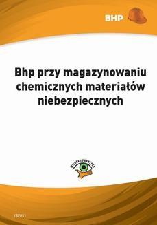 Chomikuj, ebook online Bhp przy magazynowaniu chemicznych materiałów niebezpiecznych. Lesław Zieliński