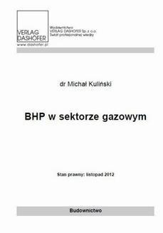Chomikuj, ebook online BHP w sektorze gazowym. Michał Kuliński