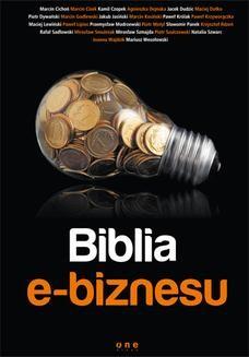 Chomikuj, ebook online Biblia e-biznesu. Marcin Cichoń