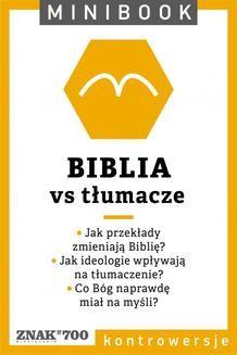 Chomikuj, ebook online Biblia [vs tłumacze]. Minibook. autor zbiorowy