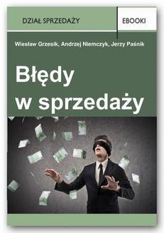 Chomikuj, pobierz ebook online Błędy w sprzedaży. Wiesław Grzesik