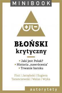 Chomikuj, ebook online Błoński. Minibook. autor zbiorowy